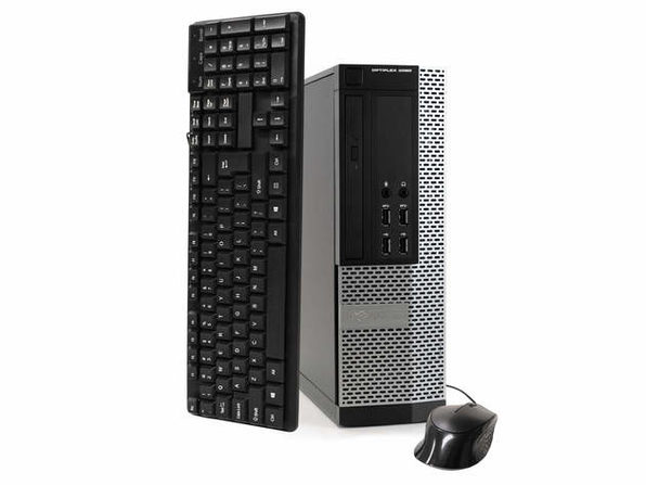 戴尔电脑 OptiPlex 9020台式机,3.2 GHz Intel i5四核Gen 4、16GB DDR3 RAM,1TB SATA HD,Windows 10 Home 64位(已更新)