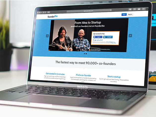 Stack Social Deal for Founder2be Pro Plan: Lifetime Subscription