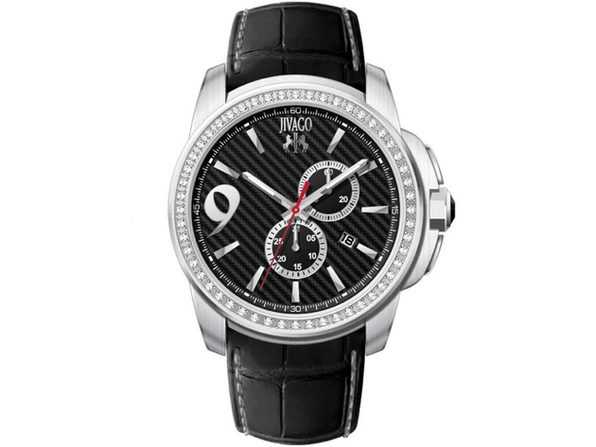 Jivago Men's Gliese Black Dial Watch JV1537 - Product Image