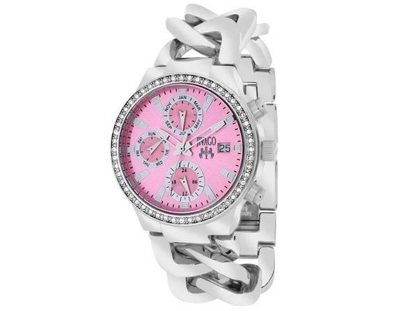 Jivago Women's Levley Pink Dial Watch - JV1248