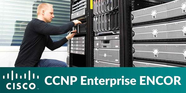 Cisco CCNP Enterprise ENCOR (350-401) - Product Image