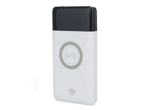 Zone One 15,000mAh Dual-USB + Wireless Power Bank (White/2-Pack)