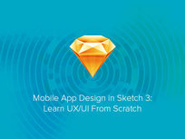 Mobile App Design in Sketch 3: Learn UX/UI From Scratch - Product Image