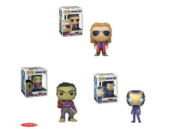 Avengers Endgame Funko POP Bundle W2