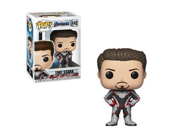 Tony Stark Funko POP - Avengers Endgame (Iron Man) In Stock - Product Image