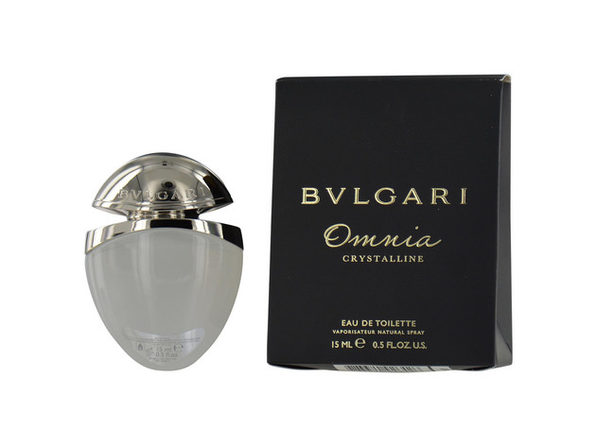 BVLGARI OMNIA CRYSTALLINE by Bvlgari EDT SPRAY .5 OZ for WOMEN ---(Package Of 5) - Product Image