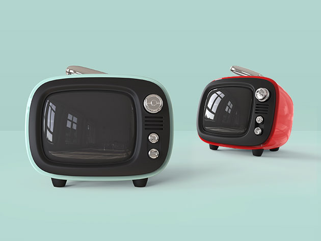 Save $20 on This Retro-style Bluetooth Speaker That Looks Like a TV Set