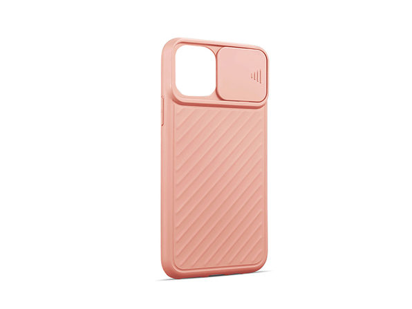 iPhone Case with Camera Cover (iPhone 12/12 Pro/Pink)
