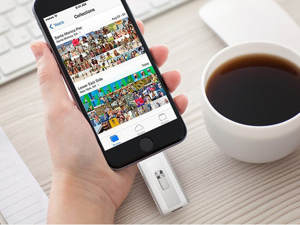 Xtra Drive Lightning Flash Drive with 16GB Micro SD Card
