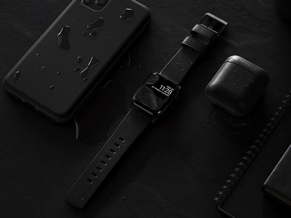 Active Strap: Modern Leather Strap for Apple Watch