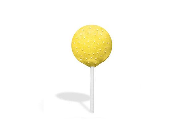 CBD Cookie Pop (Yellow Coating)
