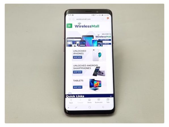 Samsung S9+ 64GB Unlocked - Lilac (Grade C)