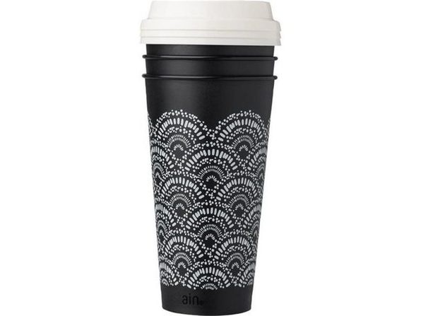 Pacific Market International 10-01733-046 Reusable to Go Cups Made of 20% Recycled Plastic