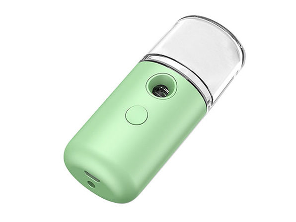 Capsule Style Portable & Rechargeable Facial Steamer (Green)