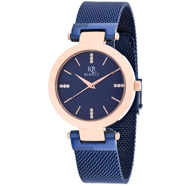 Roberto Bianci Women's Cristallo Blue Dial Watch - RB0406