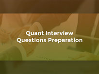 Quant Interview Questions Preparation - Product Image