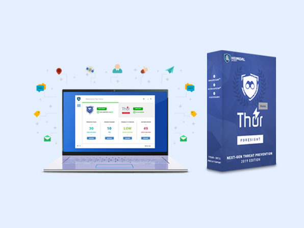 Heimdal Thor Foresight Home PC Malware Protection: Lifetime Subscription (5 PCs)