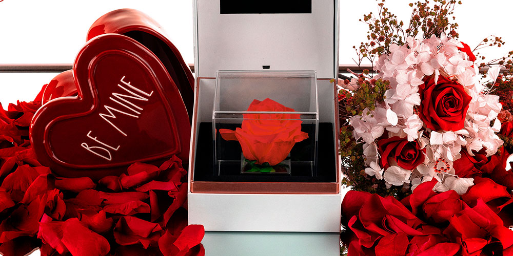 Suóno: Forever Rose with Personalized Audio Message, on sale for $55.21 with code VDAY2021