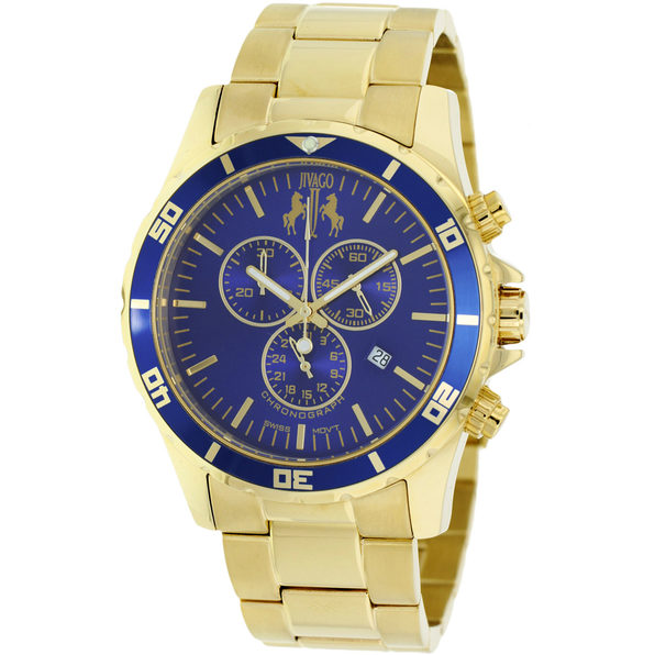 Jivago Men's Ultimate Blue Dial Watch - JV6125