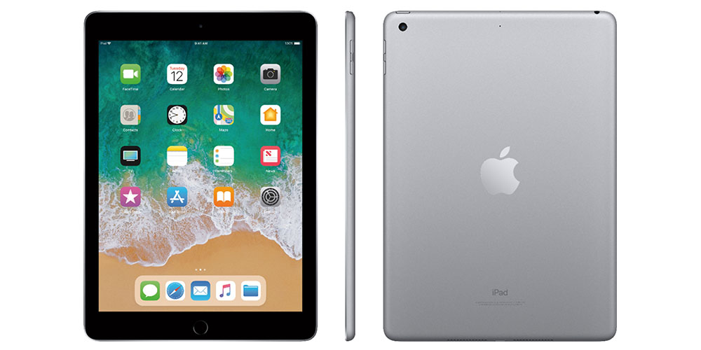 Apple iPad Air 32GB – Space Gray (Refurbished: Wi-Fi) + Accessories Bundle, on sale for $289.99