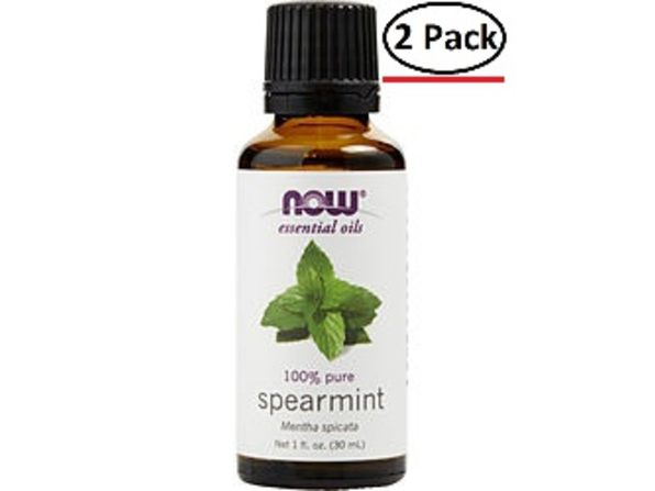ESSENTIAL OILS NOW by NOW Essential Oils SPEARMINT OIL 1 OZ for UNISEX ---(Package Of 2) - Product Image