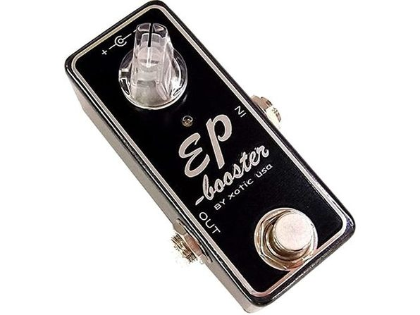 Xotic EP Booster Mini EQ High End Sparkle and definition Effect Pedal - Black (Like New, Damaged Retail Box)
