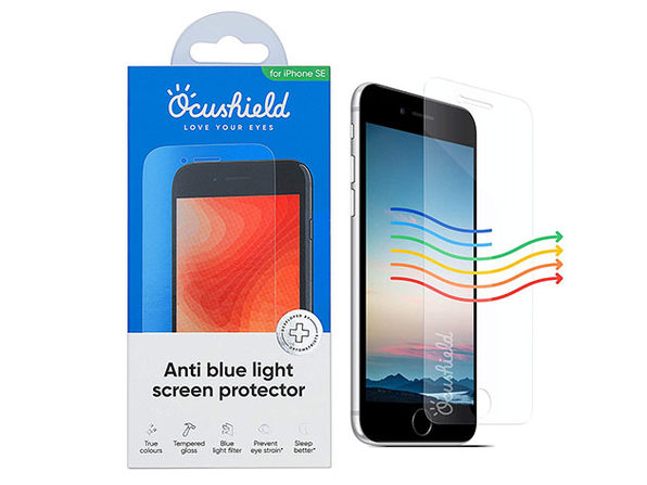 Ocushield Anti-Blue Light Screen Protector for iPhone SE