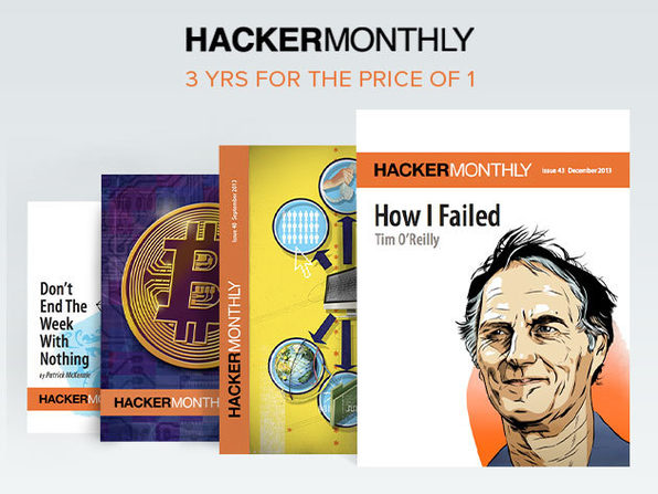3 Years Of Hacker Monthly - Product Image