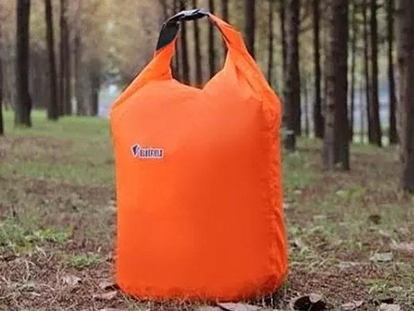 Waterproof Dry Bags 3-Piece Set (Orange) - Product Image
