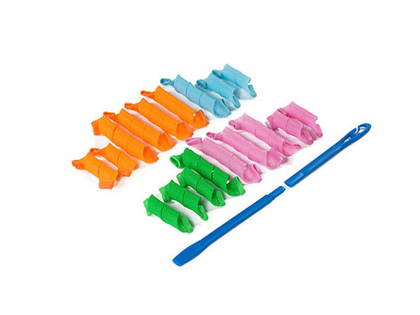 The Magic Hair Curlers: Set of 18