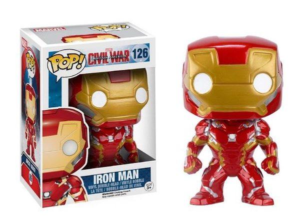 Funko POP - Captain America 3 - Iron Man - Vinyl Collectible Figure