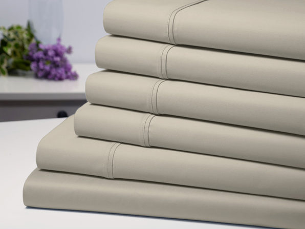 Bamboo Comfort 4 Piece Luxury Sheet Set - Taupe (Twin)