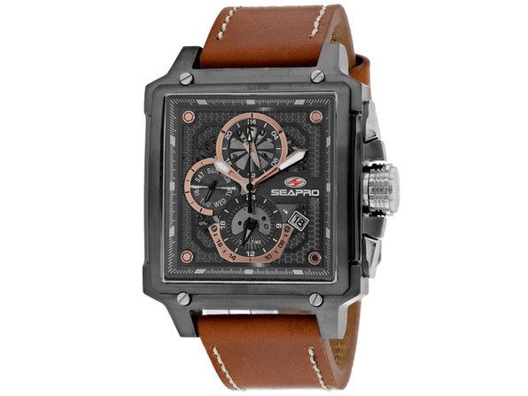Seapro Men's Brown Dial Watch - SP0113