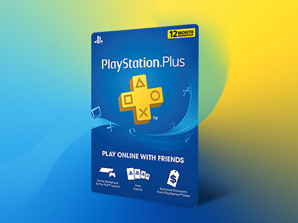 PlayStation Plus: 12-Month Subscription