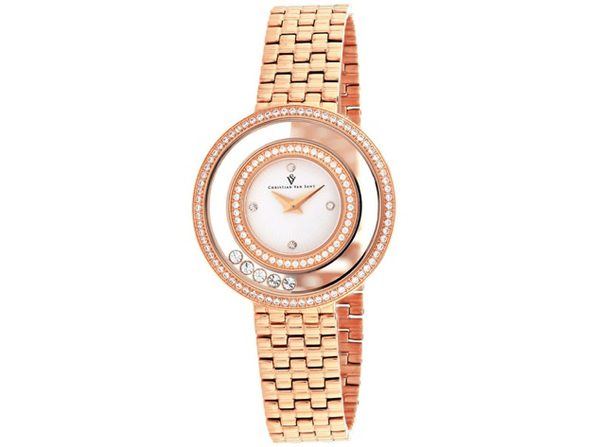Christian Van Sant Women's Gracieuse White Dial Watch - CV4832