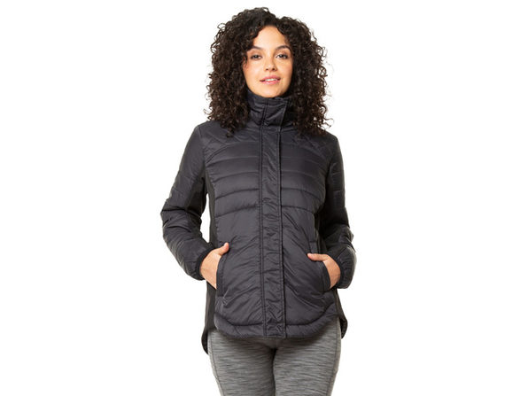 Kyodan Womens Long Sleeve Zip Up Sweater Jacket - Small