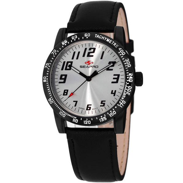 Seapro Women's Bold Silver Dial Watch - SP5212