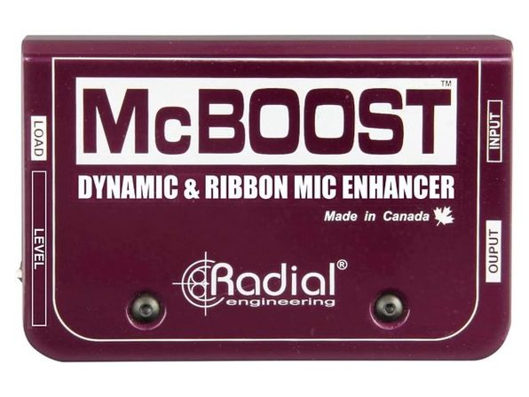 Radial Engineering RADIAL R8000 8016 00 Mcboost Microphone Signal Intensifier (Used, Damaged Retail Box)