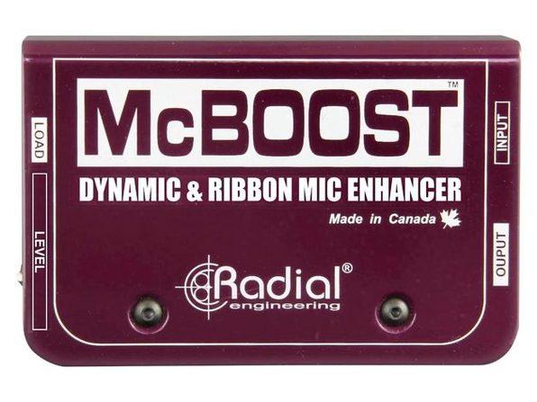 Radial Engineering RADIAL R8000 8016 00 Mcboost Microphone Signal Intensifier (Used, Damaged Retail Box)