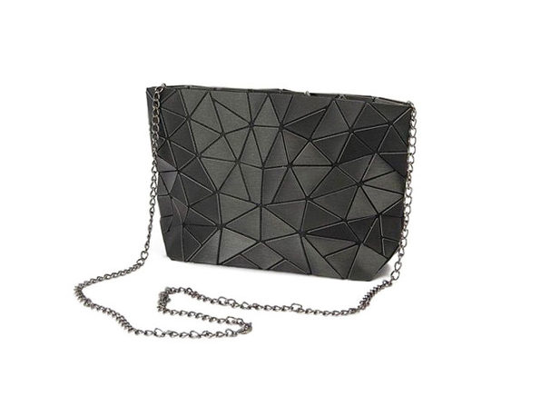 Mozaiki Cocktail Cross Body Purse- Black - Product Image