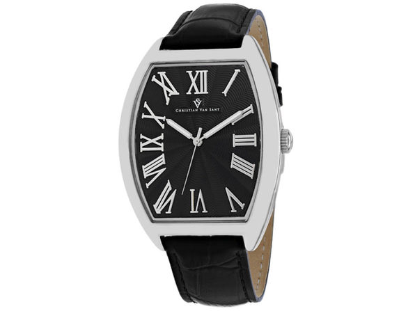 Christian Van Sant Men's Black Dial Watch - CV0271
