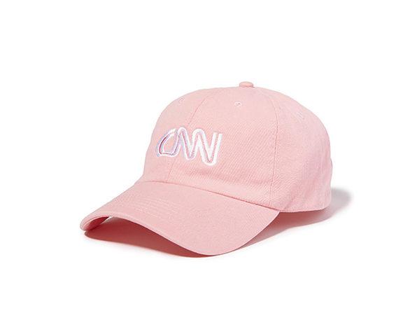 CNN Basic Logo Cap  Pink
