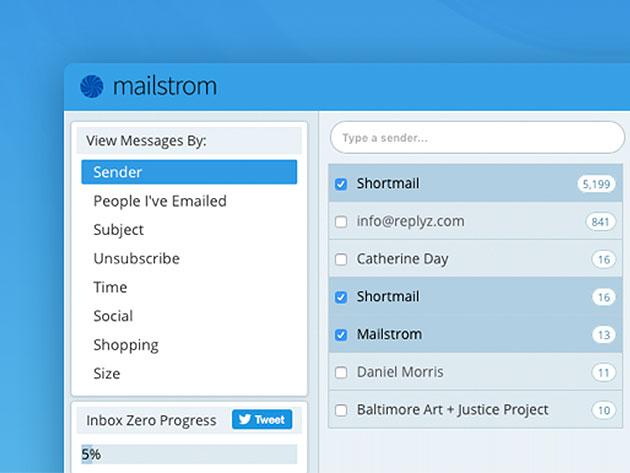 Stack Social Deal for Mailstrom Pro: Lifetime Subscription