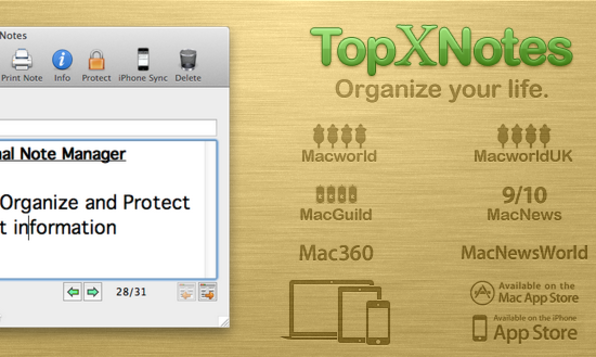 Get Organized With TopXNotes - Product Image
