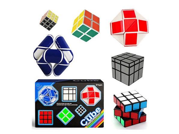 Zummy Brain Teaser 3D Puzzles: 6-Pack