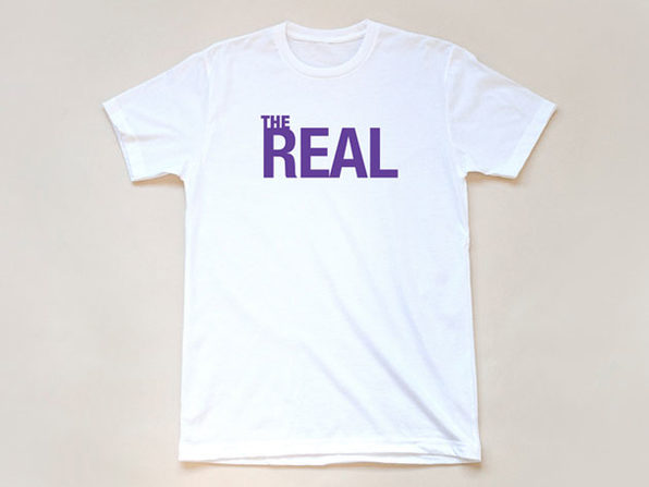 'The Real' White T-Shirt