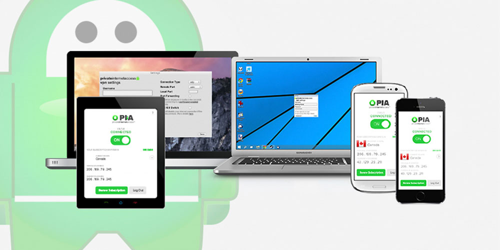 Private Internet Access VPN Subscriptions