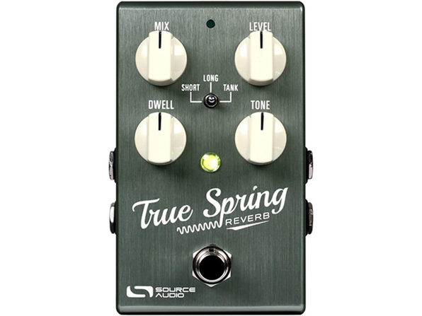 Source Audio True Spring Reverb and Tremolo Effects Stereo Pedal - Green (Used, Damaged Retail Box)
