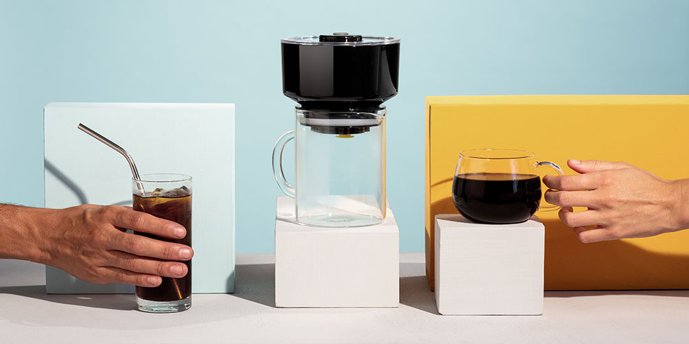 FrankOneCold Brew & Coffee Maker, now on sale for $71.10 when you use the coupon code COFFELOVE10 at checkout