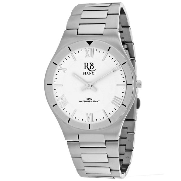 Roberto Bianci Men's Eterno White Dial Watch - RB0311 - Product Image